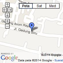 peta lokasi griyasouvenir
